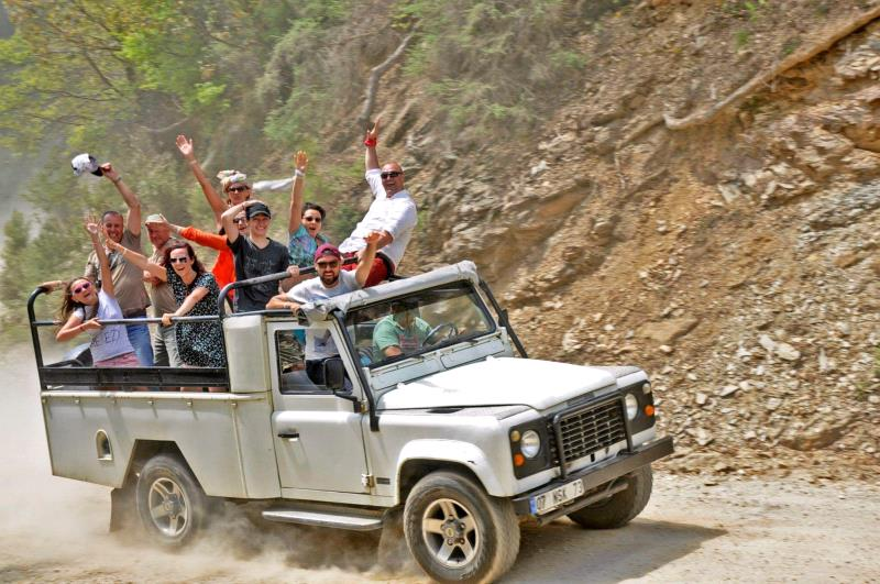 Jeep Safari Program -  Sunny beach
