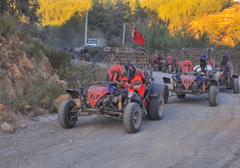 RAFTING AND BUGGY SAFARI TOUR FROM ALANYA