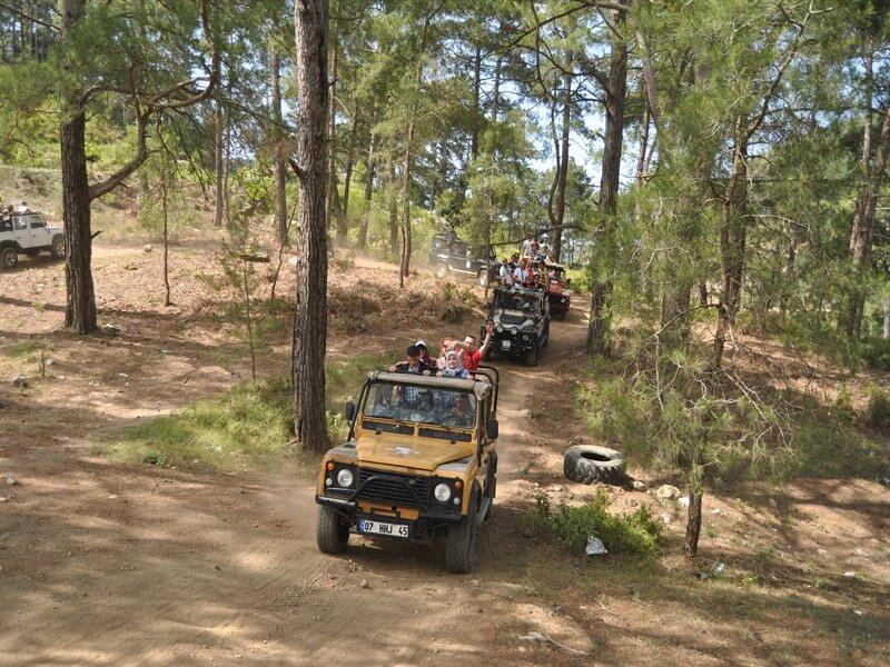 jeep safari alanya halal holidays ummahtrip